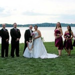 Mr. and Mrs. Tony and Alecia Kihl and Their Wedding Party