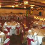Round Tables, Bridal Table, and Dance Floor